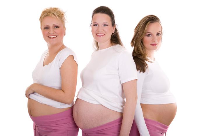 Женщины беременные