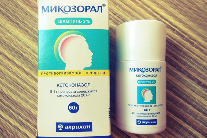 Как лечить грибок на голове мазь
