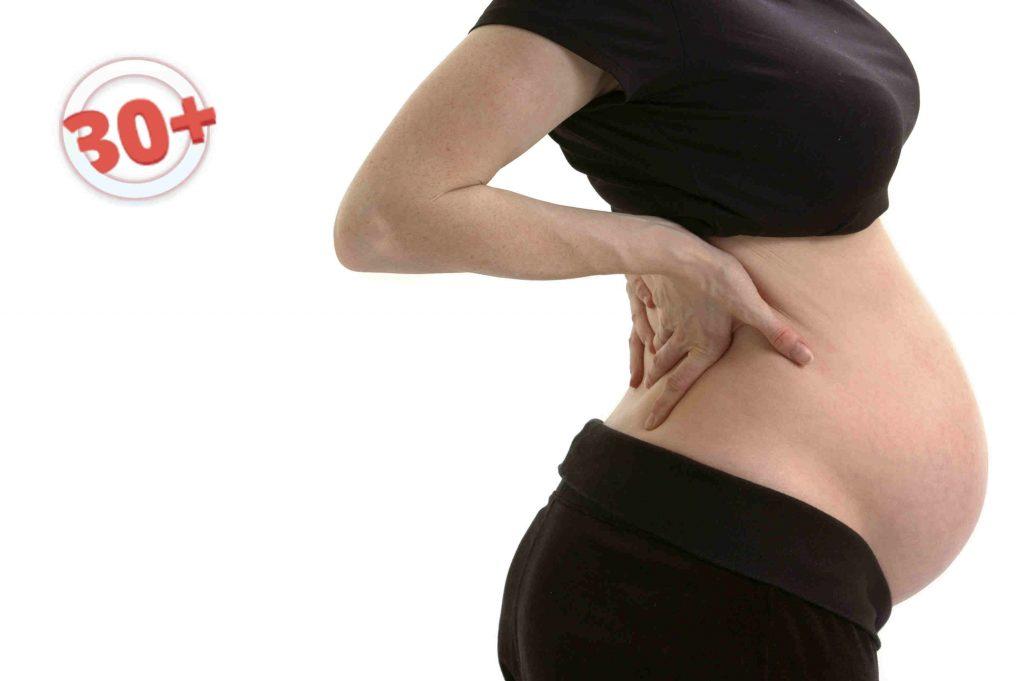 Беременность 5 неделя боли в спине