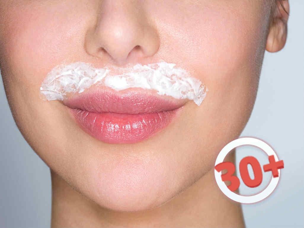 Как убрать усики над губой в домашних условиях раз и навсегда