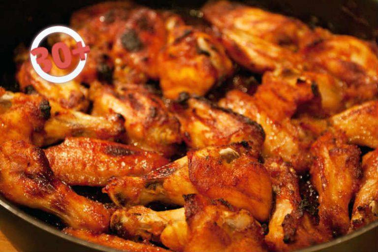 Вкусный крылышек в духовке фото