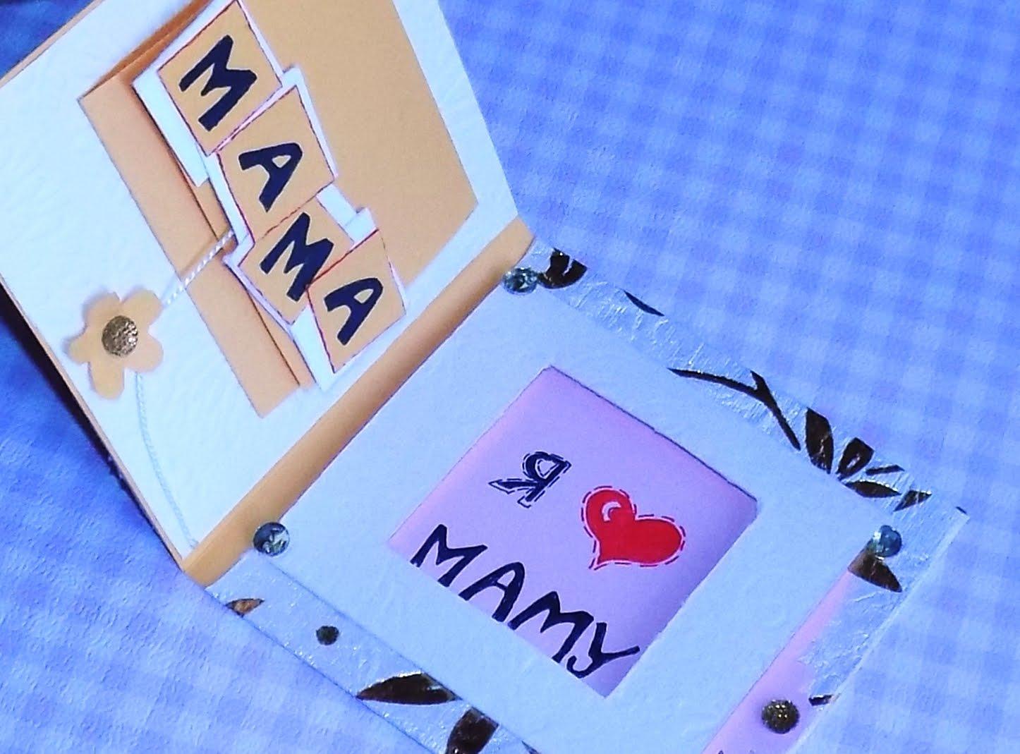 Открытки с днём рождения для мамы от дочери своими руками