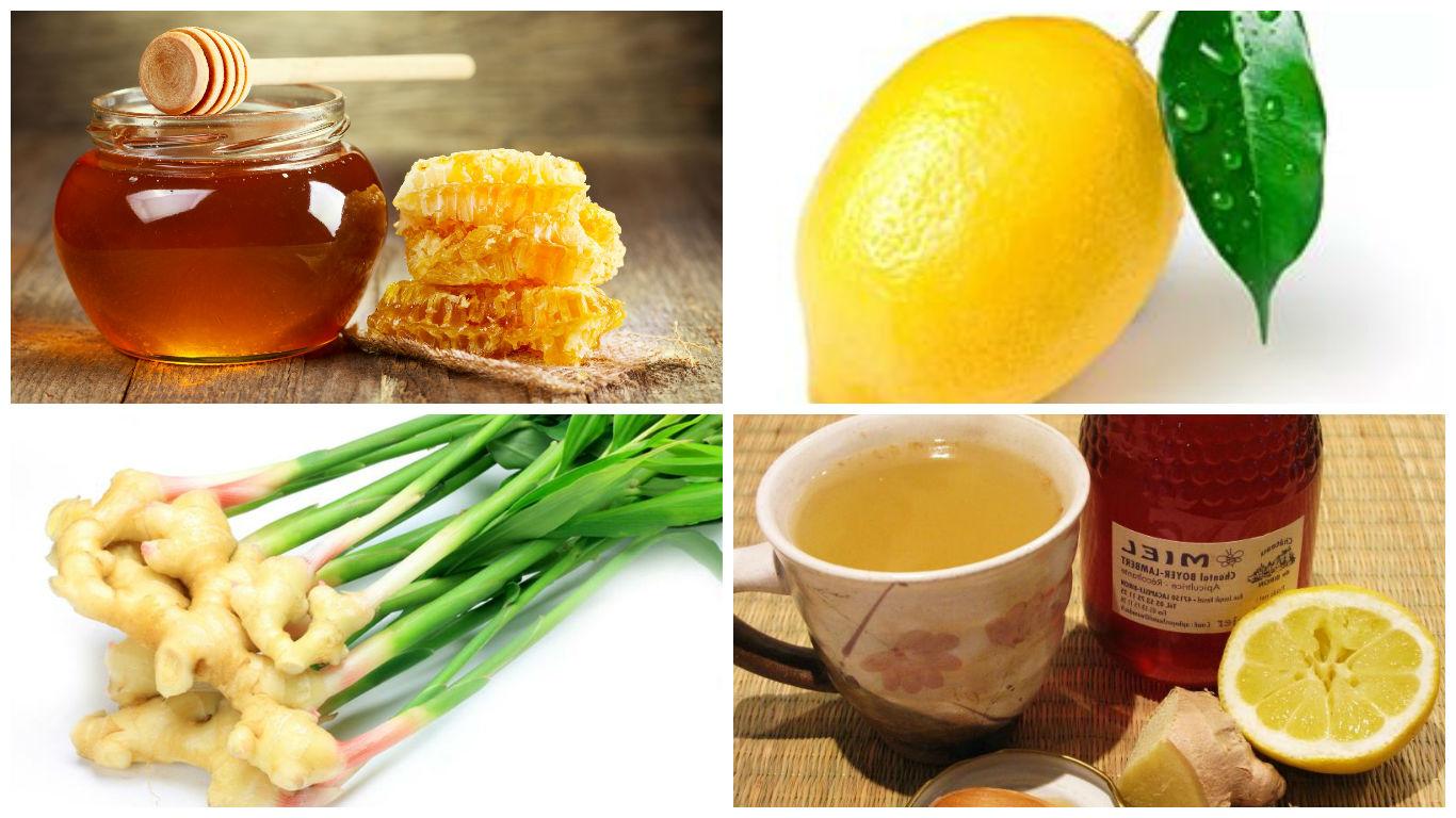 Как сделать имбирь с лимоном медом