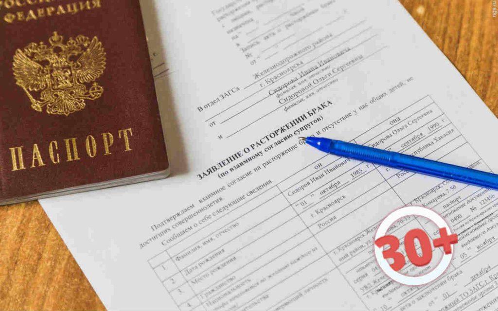 Процедура развода документы