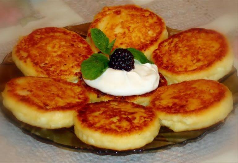 Творожные сырники рецепт с фото пошагово