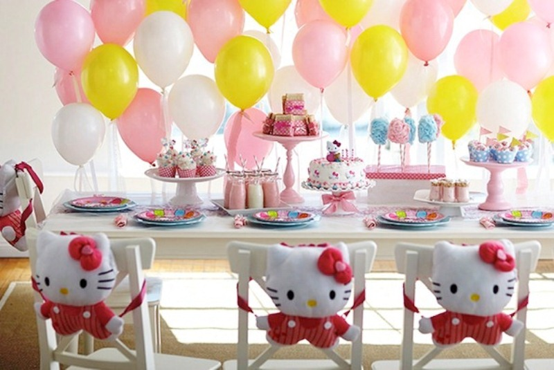 Оформление детского праздника на день рождения