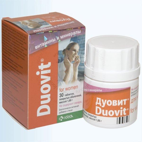 Витамины для женщин после 50 лет-Дуовит