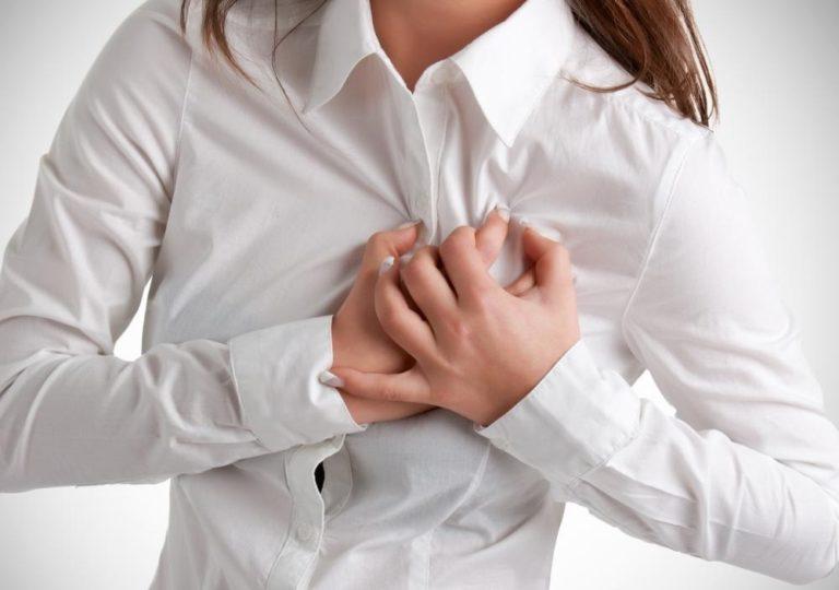 Когда начинается менопаузальный период у женщин симптомы =боли в сердце