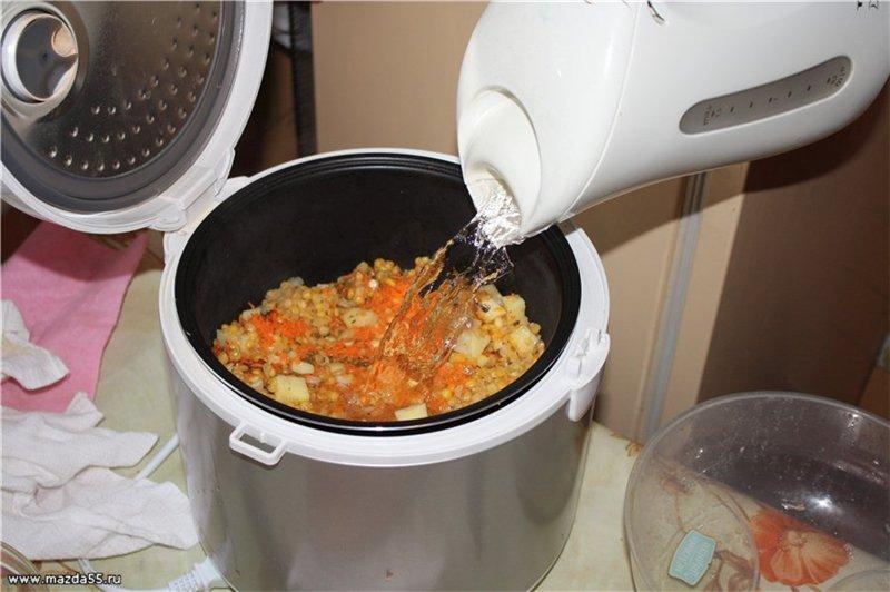 какой суп приготовить на обед быстро и вкусно в мультиварке