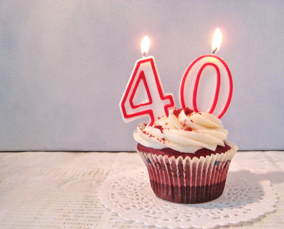 Фото день рождения 40 лет женщине прикольные