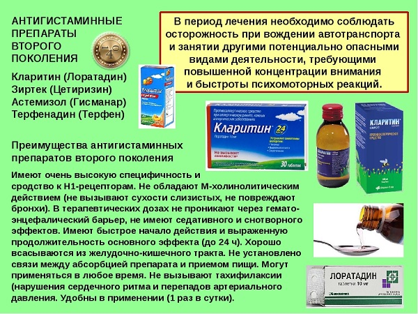 Лучшие препараты от аллергии последнего поколения-как прменять