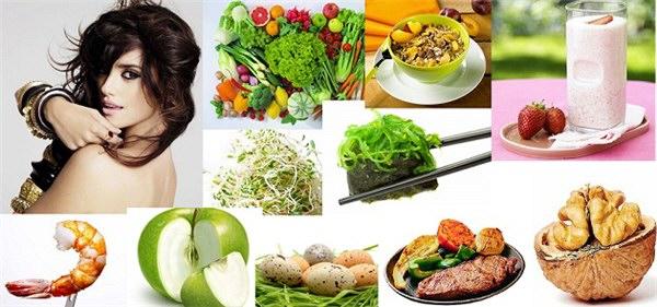 Какие витамины для волос от выпадения и для роста-продукты