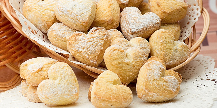Рецепт домашнего песочного печенья на маргарине