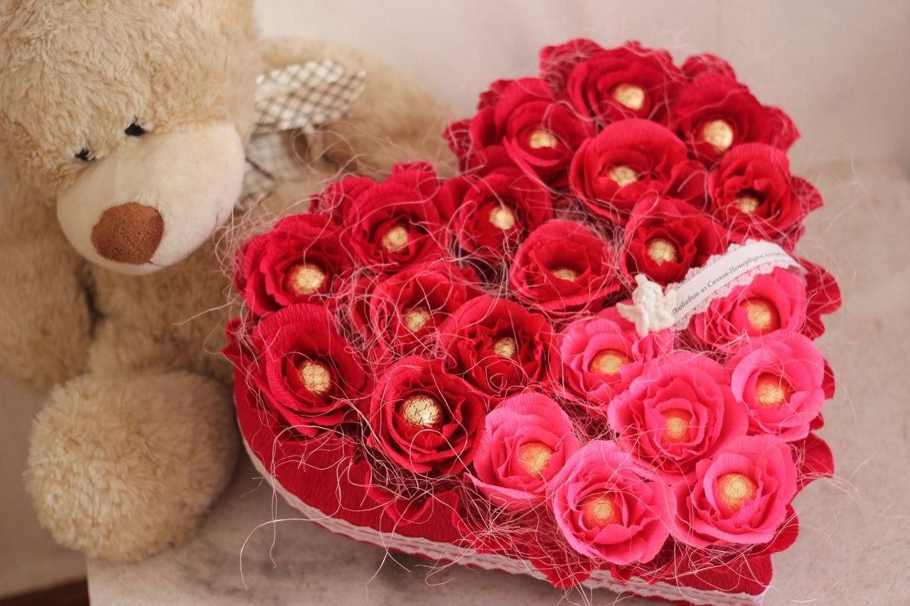 Цветов сеть, оригинальный букеты на день влюбленных девушке
