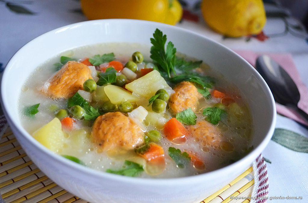 какой суп приготовить на обед быстро и вкусно-клецки с сыром