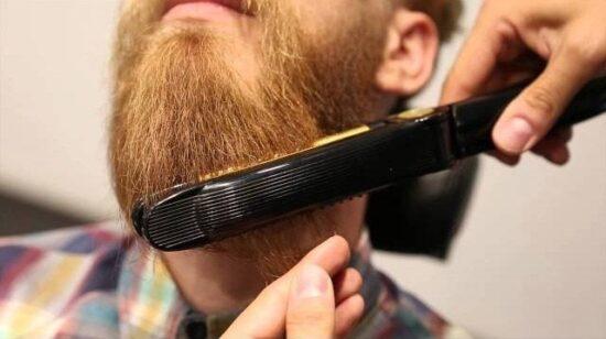 Как ухаживать за бородой чтобы не торчали волосы-барбершоп haft,